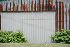 Metal building Stock Photo