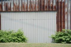 Metal building Stock Photo