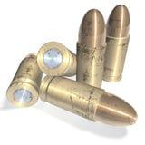 Metal bullets Stock Photos