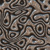 Metal bumps seamless generated hires texture. Or background Royalty Free Stock Photo