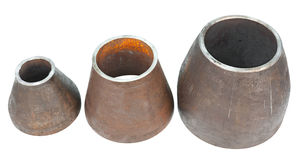 Metal bushings royalty free stock image