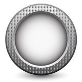 Metal button Royalty Free Stock Photography