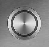 Metal Button Stock Photo