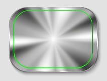metal button Stock Image