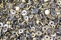 Metal buttons Royalty Free Stock Image