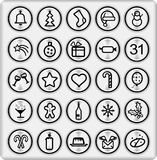Metal Buttons (set4,part5) royalty free illustration