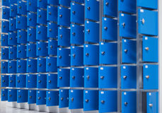 Metal cabinets Stock Photo