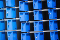 Metal cabinets Stock Photography