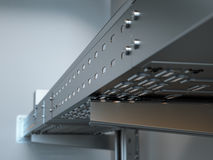 Free Metal Cable Tray Royalty Free Stock Photography - 45096547
