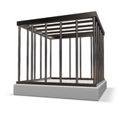 Metal cage Royalty Free Stock Images