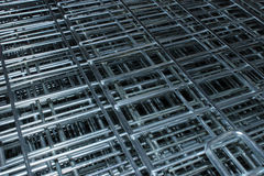Metal Cage Close Up Diagonal Royalty Free Stock Image
