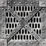 Metal cage door Stock Images