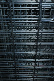 Metal Cage Vertical Texture Stock Photography