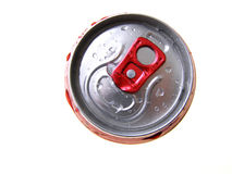 Metal can stock image