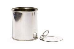 Metal can stock image