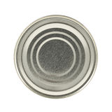 Metal can isolated Stock Image