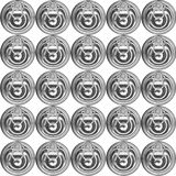 Metal Can Lid Royalty Free Stock Photography