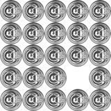 Metal Can Lid Royalty Free Stock Photos