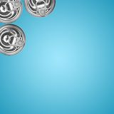 Metal Can Lid Royalty Free Stock Images