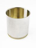 Metal can on white background Stock Images
