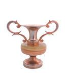 Metal candlestick Royalty Free Stock Photo