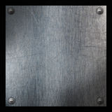 Metal and carbon fibre background Royalty Free Stock Images