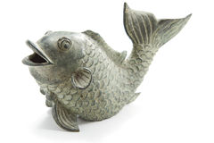 Metal carp Stock Image