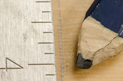 Carpenter's Pencil Royalty Free Stock Photography