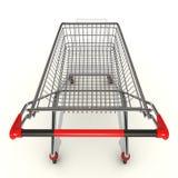 Metal cart Stock Images