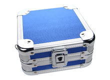 Metal Case. Photo of Metal Case royalty free stock images