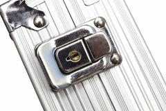 Metal case closeup Stock Images