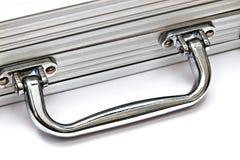 Metal case closeup Stock Photos