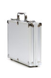 Metal case isolated Stock Photos
