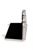 Metal case isolated. On the white background Stock Photography