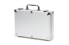 Metal case isolated Royalty Free Stock Image