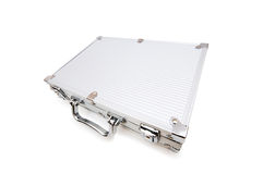 Metal case isolated Royalty Free Stock Photo