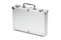 Metal case isolated Royalty Free Stock Photos