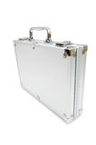 Metal case isolated Royalty Free Stock Images