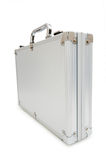 Metal case isolated o. N the white background Stock Photos