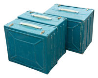 Metal cases Royalty Free Stock Photo
