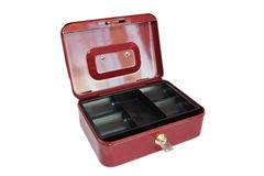Metal cash box Stock Photography