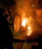 Metal casting Stock Photos
