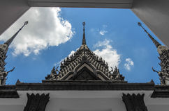 Metal Castle Roof Royalty Free Stock Images