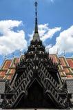 Metal Castle Roof Stock Photo
