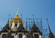 Metal Castle in Thailand. Metal Castle is a repository of buddha relics. This place is popular landmark of traveller Royalty Free Stock Photos