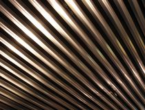 Metal ceiling bar background Stock Photos