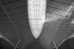 Metal ceiling Stock Photo