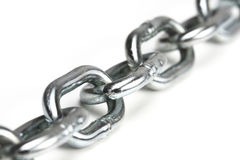 Metal chain Royalty Free Stock Photo