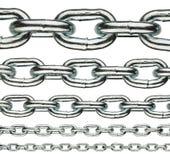 Metal chain Royalty Free Stock Photos
