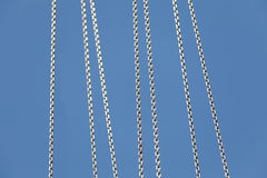 Metal Chain Stock Image